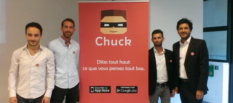 Gossip, anonymat… La nouvelle appli Chuck ou le réseau social des pestes