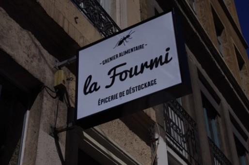 Épicerie La Fourmi : 8 rue Terme, à Lyon. ©Léa Ménard/Rue89 Lyon