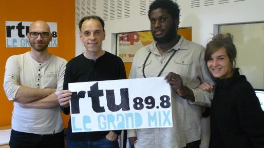 Julien Donaz (programmateur), Alfredo Da Silva (directeur), Alpha Diallo (web) et Ilona Gil (com').