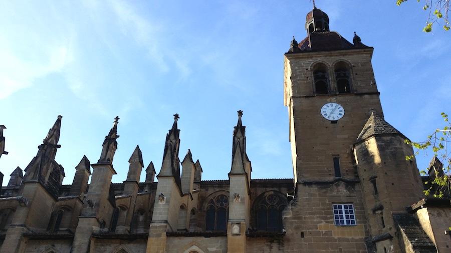 L'abbaye de Sainte-Antoine, à 10 kilomètres de Roybon. ©LB/Rue89Lyon