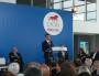 Manuel Valls lors de son discours au musée des Confluences autour des acteurs de Lyon French Tech le 11 mai 2015 / BE Rue89lyon