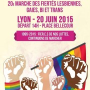 Affiche Marche des fiertés 2015