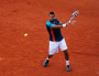 Jo-Wilfried Tsonga lors de Roland-Garros 2012 / Photo CC by Carine06 via Flickr