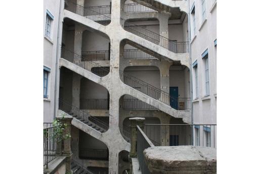 L'escalier monumental de la Cour des Voraces - Crédit Eva Thiébaud