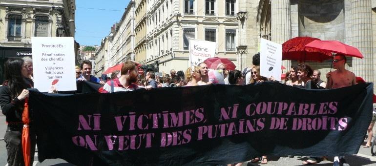 Des prostituées de toute l'Europe venues à Lyon pour manifester