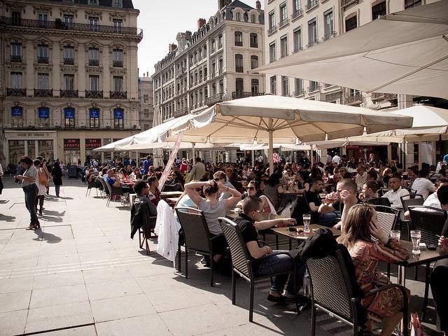Appli Trouvez Votre Terrasse Lyon
