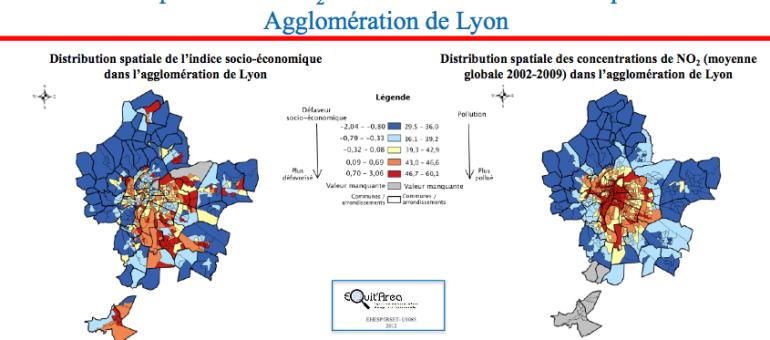 La pollution coûte cher et affecte d'abord les plus modestes, exemple à Lyon