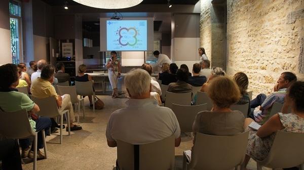 Uner cinquantaine de personnes sont venus assister à la réunion © LM/Rue89Lyon