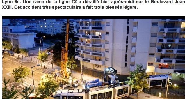 Un tramway déraille à Lyon. Comment est-ce possible ?