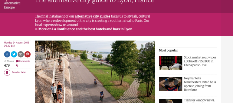 Le « Lyon alternatif » vu par le journal anglais The Guardian