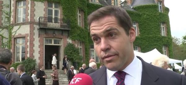 Louis Alphonse de Bourbon, prétendant au trône de France. Capture d'écran vidéo AFP