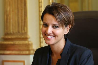 Pour Najat Vallaud-Belkacem, c'est «Villeurbanne mon amour»
