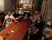Un mardi soir au LOL : Kevlar, Jeremy, Jean-François et Elise - Crédit Eva Thiébaud