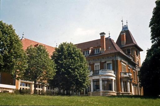 La villa Berliet, bâtie en 1911 par le constructeur automobile Marius Berliet ©Fondation de l'Automobile Marius Berliet - Lyon