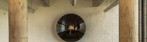Anish Kapoor chez Le Corbusier Au Couvent de la Tourette à Eveux, jusqu'au 3 janvier. Crédits : Laszlo Horvath.