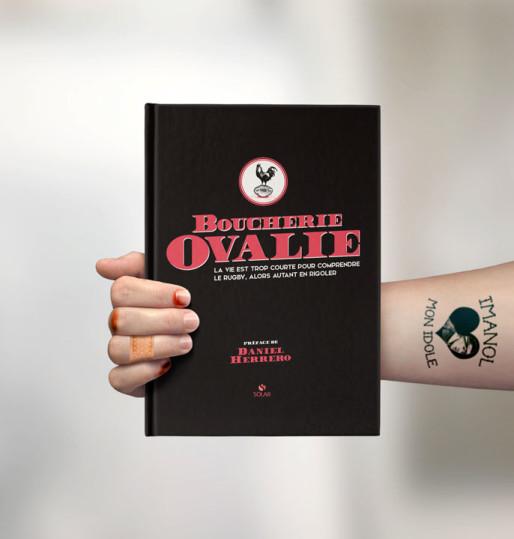 """Couverture du livre de la """"Boucherie Ovalie"""" / DR"""