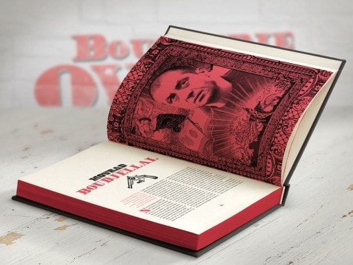 """Portrait de Mourad Boudjellal dans le livre de la """"Boucherie Ovalie"""" / DR"""