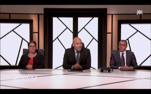 Bruno Bonnell entouré de ses bras droits Nathalie Cayuela et Salim Azouli / Capture d'écran