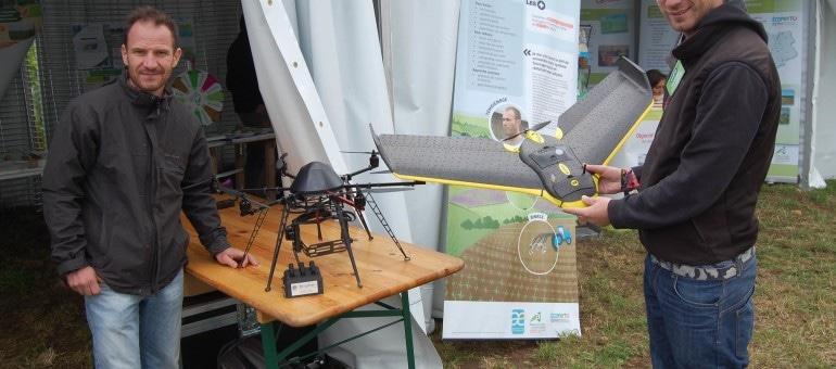 « L'agriculture (bio) sera un des premiers utilisateurs de drones »