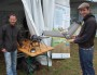 Benoît de Solan ingénieur chez Arvalis (à gauche) et Thibaud Leroy de la Chambre d'Agriculture de la Somme. Crédit : BE/Rue89Lyon.