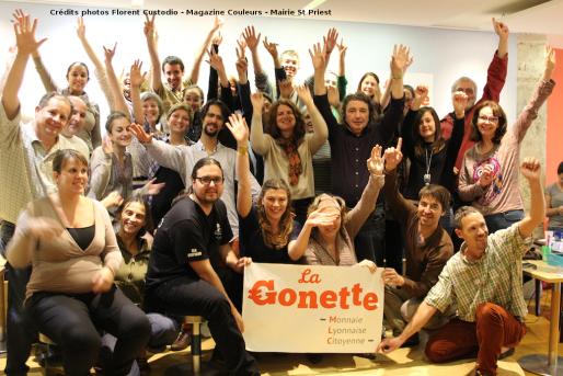 L'équipe de bénévoles de la Gonette