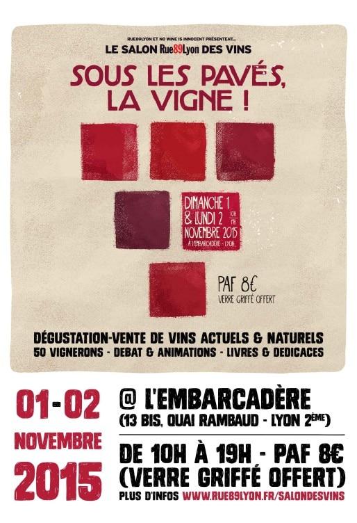 Salon des vins Rue89 Lyon, édition 2015
