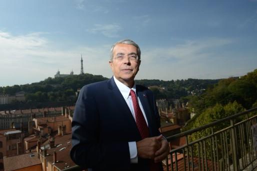 Jean-Jack Queyranne, candidat PS aux élections régionales 2015 (Rhône-Alpes-Auvergne). ©Eric Soudan