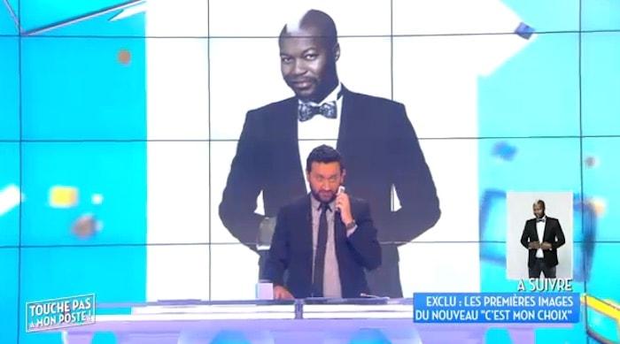 """Quand fait div' rime aussi avec show biz'. A peine remis en liberté, Djibril Cissé a contacté D8 et Cyril Hanouna pour expliquer que """"Mathieu Valbuena"""" est un ami"""". Capture d'écran D8"""