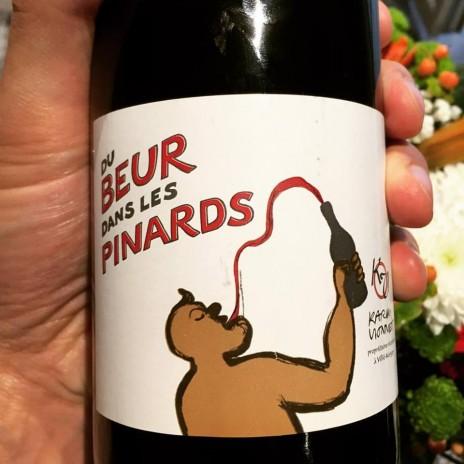 """L'étiquette de la cuvée """"Du Beur dans les pinards"""" (AIA/Rue89)"""