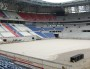 Le Grand Stade de l'OL en construction en octobre 2015. © BE pour Rue89Lyon