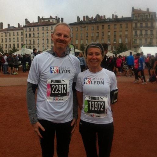 Myriam Picot, maire joggeuse du 7è arrondissement de Lyon. Via son FB.