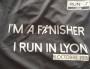 Photo du t-shirt d'un Lyonnais fier comme un paon, sur FB.