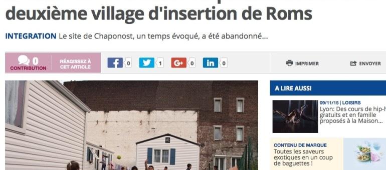 Saint-Clément-les-places accueillera le deuxième village d'insertion de Roms dans le Rhône