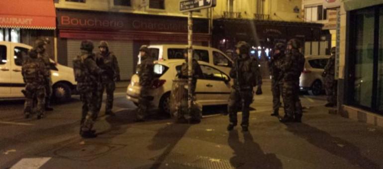 Après les attaques terroristes à Paris, l'état d'urgence déclaré en France
