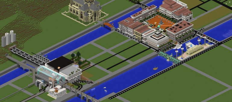 Lyon se construit aussi sur Minecraft