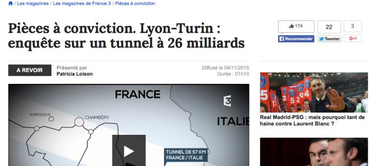 TGV Lyon-Turin : un tunnel à 30 milliards d'euros dont l'utilité est remise en cause