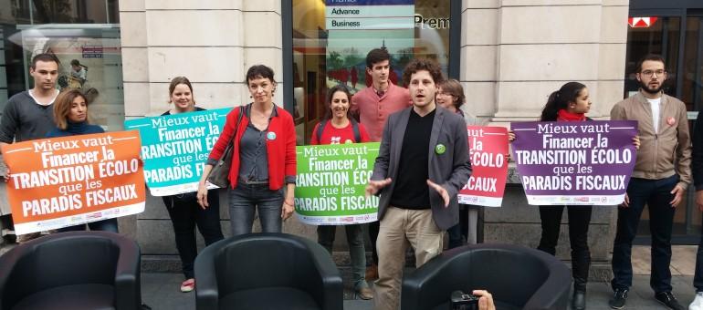 Faucheurs de chaises: rappel à la loi après une action dans une agence HSBC à Lyon