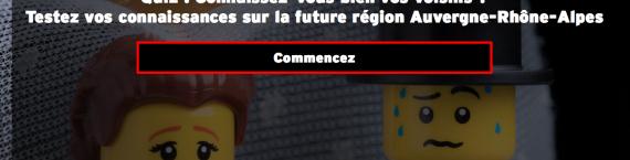 Capture d'écran du quiz auvergne rhône-alpes