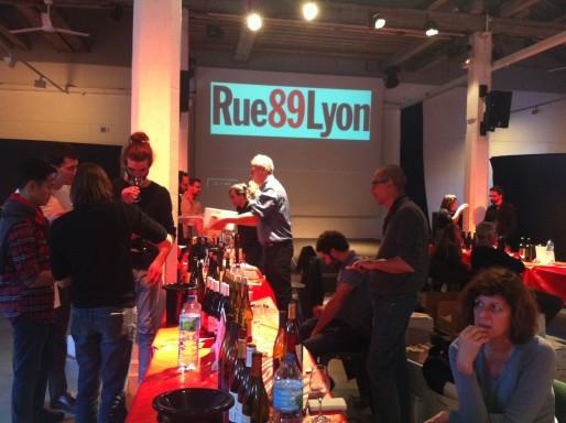 """Au salon des vins Rue89Lyon, """"Sous les pavés la vigne !"""", 2è édition."""