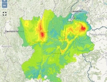 A Lyon, le deuxième de pic de pollution de l'automne a duré 5 jours