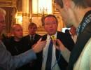 Christophe Boudot, chef de file du FN, dimanche 6 décembre à la préfecture du Rhône. Crédit : Rue89Lyon.