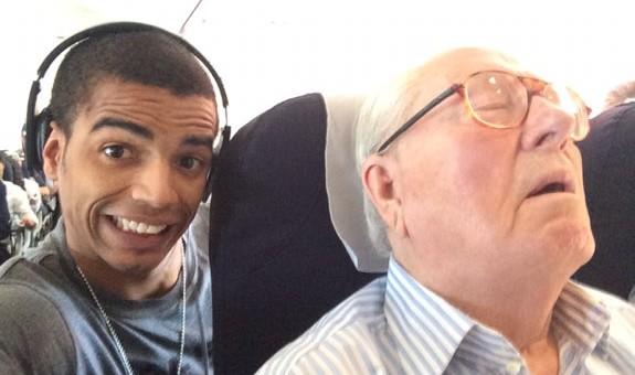 Le selfie de Brahim Zaibat qui a énervé Jean-Marie Le Pen interdit