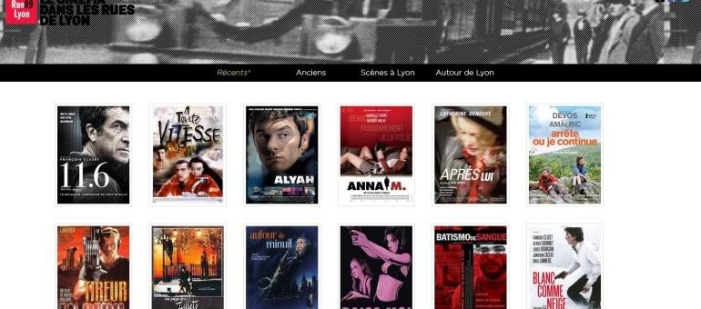 [Appli] Cinéma à Lyon : quel film a été tourné près de chez moi?