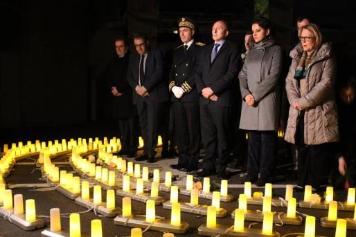 Photo publiée par Gérard Collomb, maire de Lyon, au lendemain du drame.