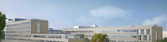 Le patio et les bâtiments Mendel et Omega seront rénovés progressivement entre 2017 et 2019.© Kaupunki