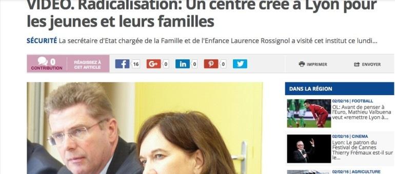 Au centre de prévention de la radicalisation à Lyon : des jeunes issus des classes moyennes
