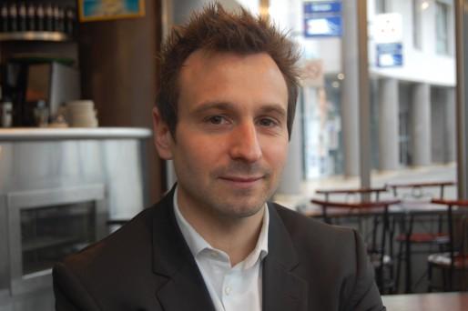 Eric Hatesse, ingénieur commercial, créateur de Verti-Call. © BE/Rue89Lyon