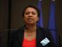 Hélène Geoffroy, maire de Vaulx-en-Velin et secrétaire d'État à la Ville © Photo CC by Parti Socialiste via Flickr