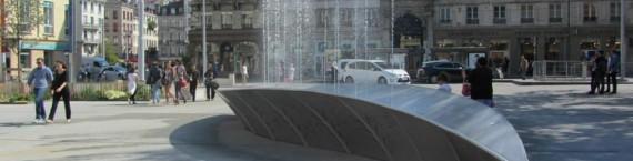 La fontaine, place de l'Hôtel de Ville (Saint-Etienne) / © Obras