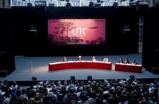 Table ronde et débats pendant les AIR 2014.